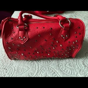 Charming Charlie Red Purse